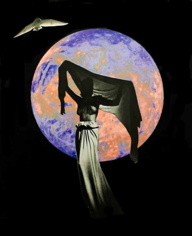 mujer de la luna