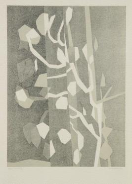 Arbre, 1964. André Beaudin. Lithograph