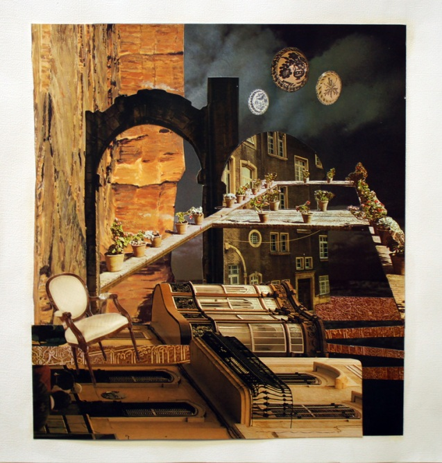 Arches by Trissa Dodson, Collage 2013