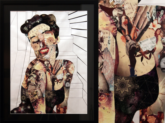 @mayastars by Trissa Dodson, Mixed Media Collage 2014