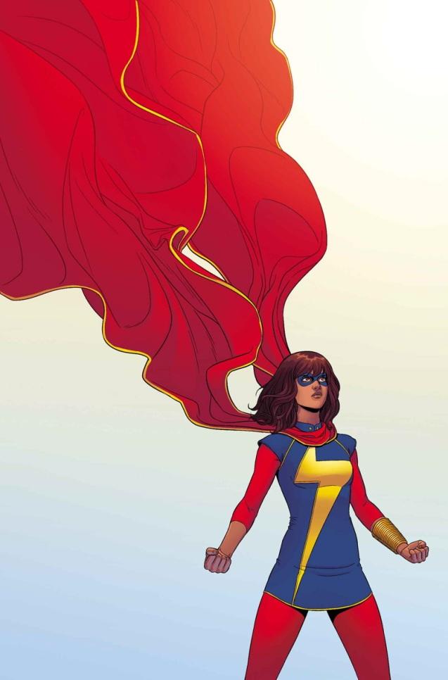 Ms. Marvel, drawn by Adrian Alphona